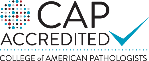 CAP Accredited Lab Logo